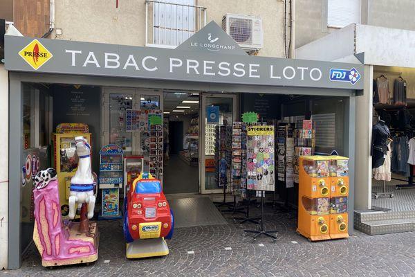La grille gagnante avait été enregistrée dans un tabac-presse situé à Valras Plage.