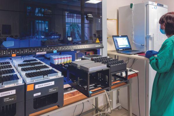 Le laboratoire de virologie du CHU de Montpellier