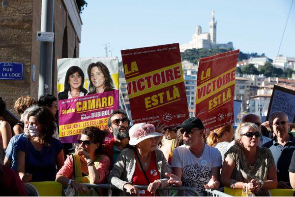 En 2020, la liste municipale portée par Michèle Rubirola, remplacée depuis par Benoît Payan, avait remporté la mairie après 25 ans de règne de la droite