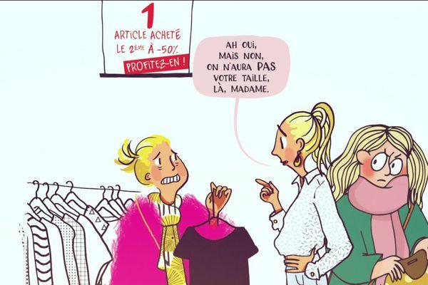 Mademoiselle Caroline et Mathou racontent la grossophobie