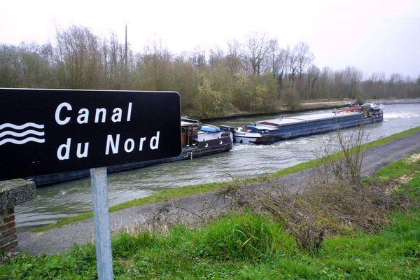 La nouvelle infrastructure empruntera en partie le tracé actuel du canal du Nord.