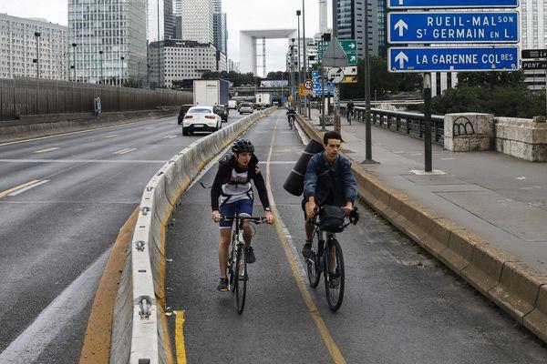 Une cinquantaines de pistes cyclables ont été créées pour éviter un afflux des voitures dans la capitale.