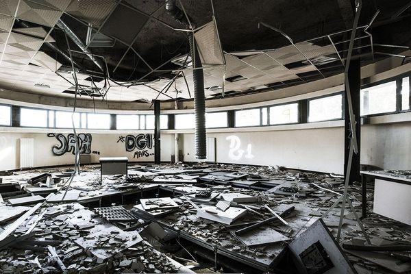 Désaffecté, le SITI sera bientôt rénové en immeuble d'habitation.