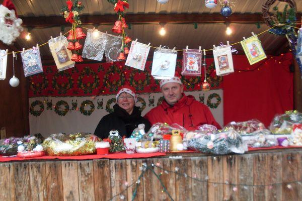 Léon et Isabelle Thomas, passionnés de Noël