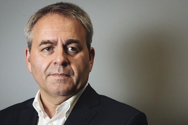 Xavier Bertrand, le président de la région Hauts-de France