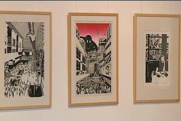 Trois étudiants de l'école européenne supérieure de l'image d'Angoulême exposent leurs dessins à la galerie Les Modillons (16).