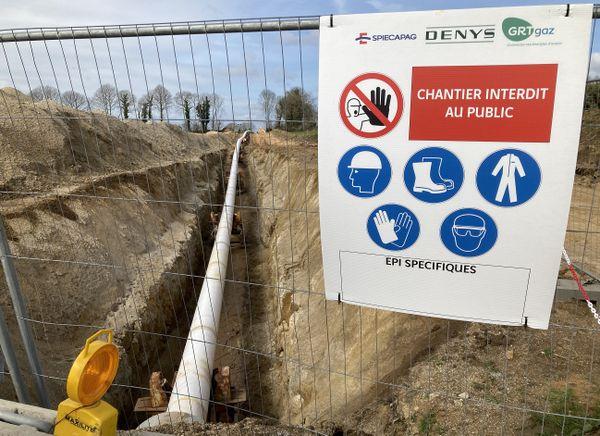 Le gazoduc va traverser 18 communes, mais aussi 900 parcelles agricoles ou forestières.