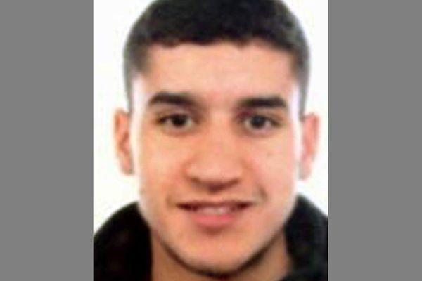 La photo du suspect, Younès Abouyaaqoub, diffusée par la police catalane.