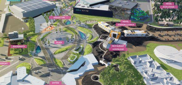 D'ici 2025, le Futuroscope de Poitiers devrait s'étoffer avec trois nouvelles attractions, deux hôtels et un restaurant.