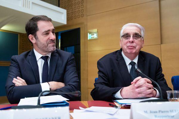 Archives (16 Janvier 2019) - Audition M. Christophe Castaner, ministre de l'Intérieur, sur l'affaire Benalla, avec M. Jean Pierre Sueur, sénateur PS du Loiret.