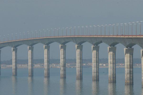 Le pont de l'île de Ré, image d'illustration