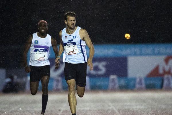 L'athlète originaire d'Annecy Christophe Lemaître s'exprime sur le report des Jeux Olympiques de Tokyo, lié à l'épidémie de Coronavirus COVID 19.