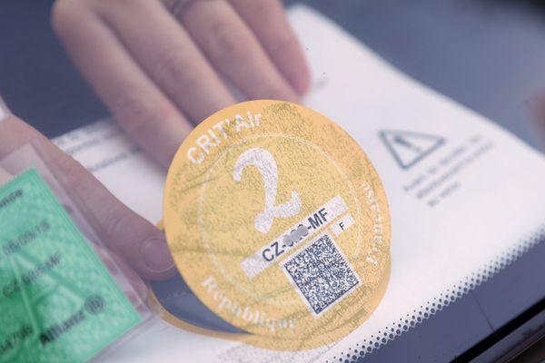 Le dispositif Crit'Air, qui permet le déclenchement d'une circulation différenciée en cas de pic de pollution, est entré en vigueur en novembre dernier dans le Bas-Rhin.