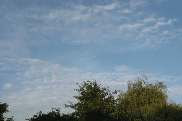 Le ciel du Nord ce 6 août 7h