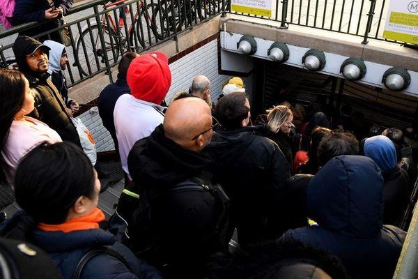 8 lignes de métro sont fermées ce week-end.