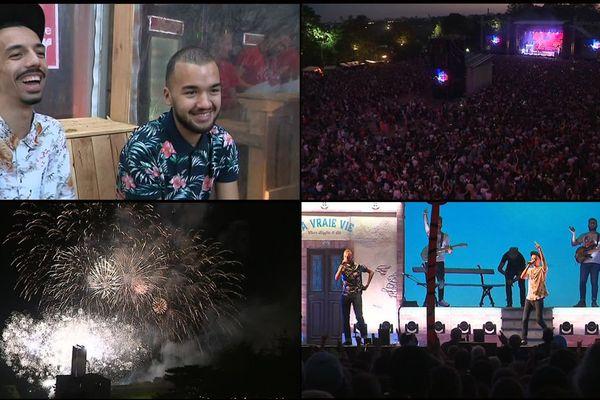 Bigflo et Oli se sont produits sur la scène du festival Beauregard ce dimanche 8 juillet