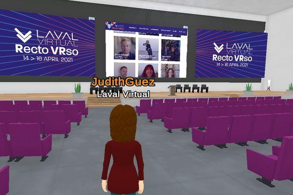 Conférences dans le Laval Virtual World