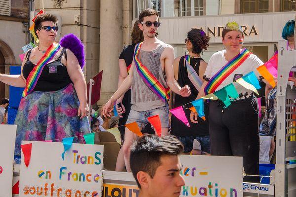 Gay pride 2017 à Strasbourg
