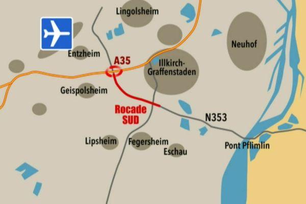 La Rocade sud de Strasbourg doit fluidifier le trafic au sud de Strasbourg