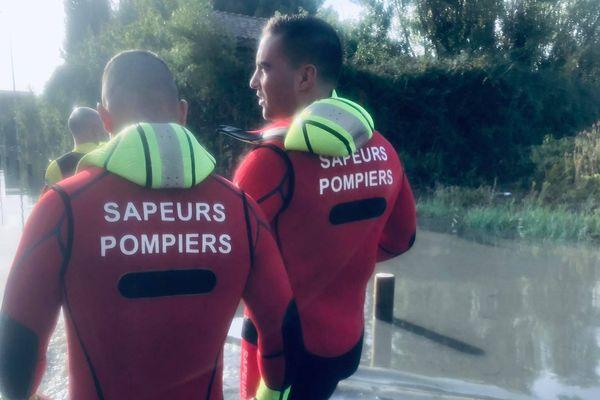 Une équipe de pompiers de Corrèze est resté deux jour et demi dans l'Aude pour secourir des victimes des inondations.