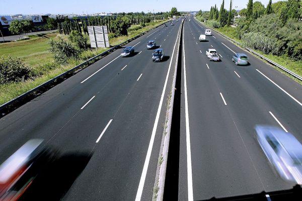 L'A9 du côté de Nîmes - illustration.