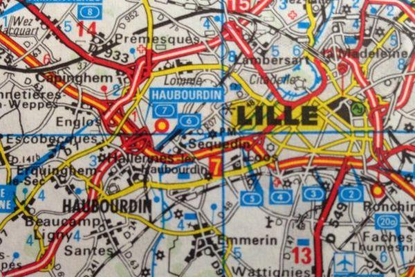 Lille, capitale de la future région Nord Pas-de-Calais Picardie.