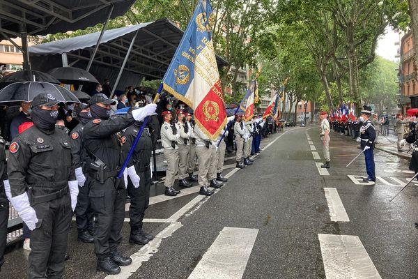 Défilé du 14 juillet à Toulouse. 2021.