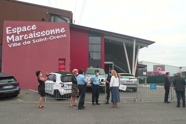 Haute-Garonne - L'espace Marcaissonne de Saint-Orens transformé en centre de vaccination a été vandalisé dans la nuit du 16 au 17 août 2021.