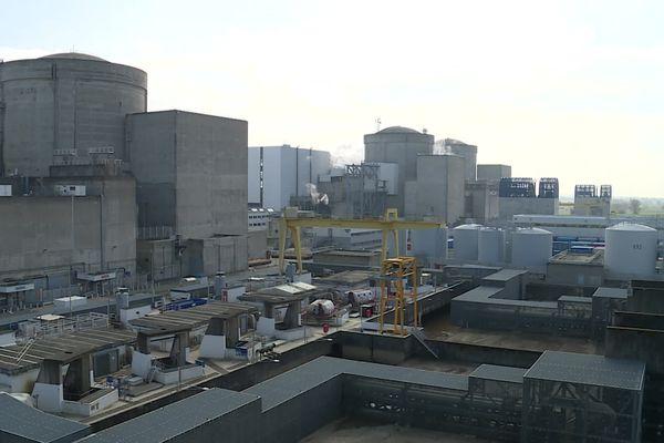 La centrale nucléaire du Blayais. 05/03/21.