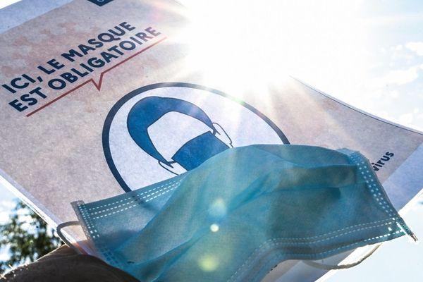 Le masque obligatoire à l'extérieur dans une vingtaine de communes de la Drôme