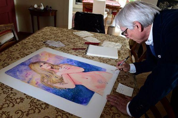 Le dessinateur érotique Manara a mis en vente 25 aquarelles originales consacrées à Brigitte Bardot.