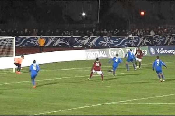 Avranches stoppée par Metz dans la Coupe de France