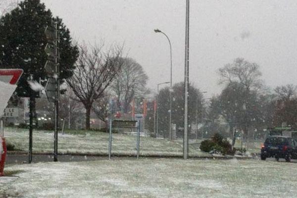 Pabu, près de Guingamp (22) sous le neige