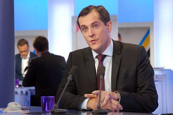 Nicolas Bay, leader du Front National en Normandie