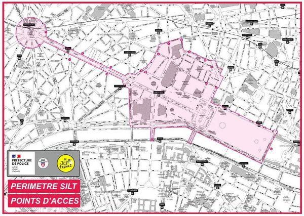 Le périmètre de protection sera en vigueur de 7h à 22h dimanche 20 septembre.