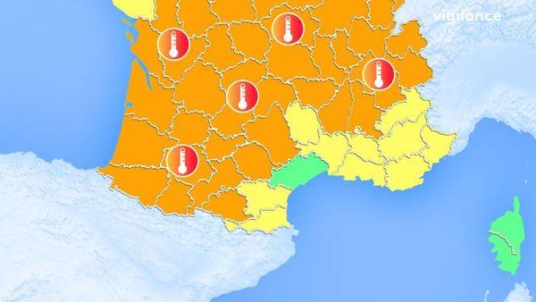 La vigilance s'étend quasiment à toute la France.