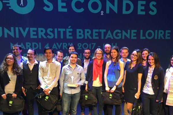 """Les 16 finalistes 2017 de """"Ma thèse en 180 secondes pour les régions Bretagne et Pays de la Loire"""""""