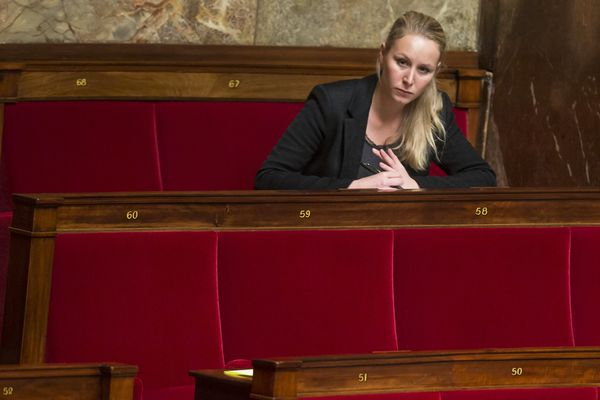 Marion Marechal-Le Pen, le 9 mai 2017 à l'Assemblée Nationale.