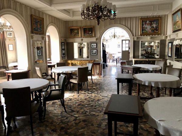 Salle à manger restaurant Paul Bocuse.