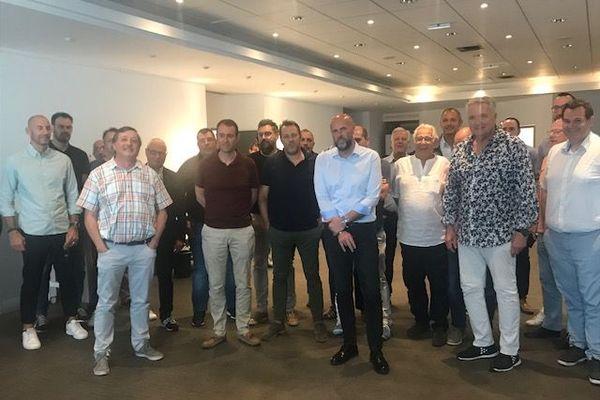 Le patron de l'USAM, David Tebib, et les autres présidents de clubs, confiants et unis pour innover.
