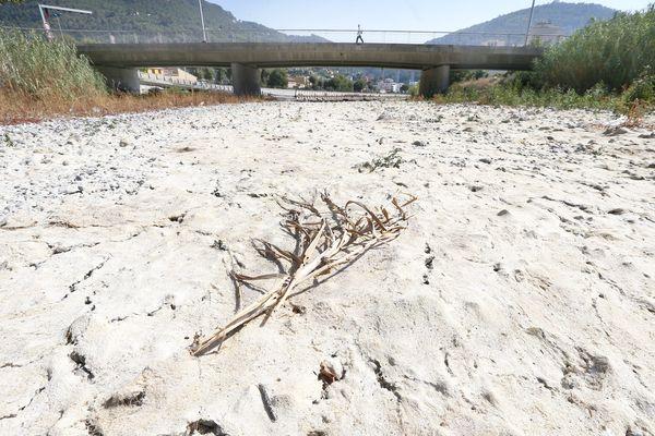 La sécheresse a touché les Alpes-Maritimes en 2017.