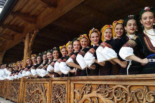 Groupe folklorique de Macédoine