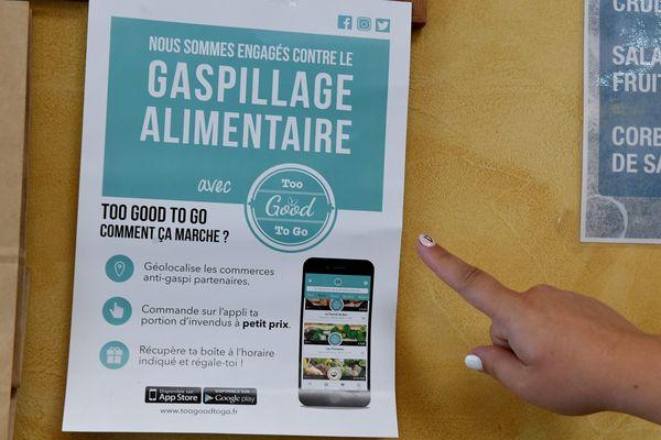 La ville de Toulouse a signé un partenariat avec Too Good to Go. Pour éviter le gaspillage, des paniers repas avec les restes seront vendus sur l'application.