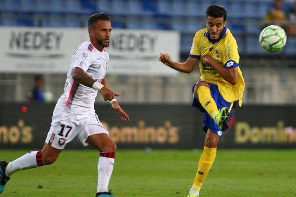 Les Sochaliens ont décroché un match nul face à Caen en ouverture de la saison de Ligue 2, le 26 juillet 2019.