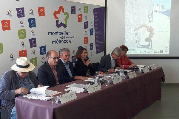 Montpellier - conférence de presse Cinemed - octobre 2017.
