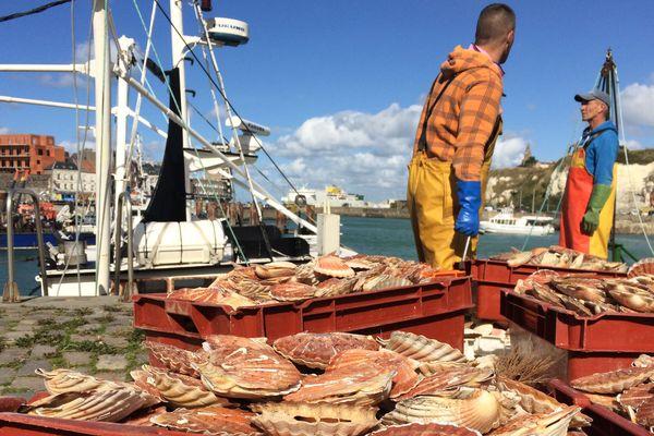 Les pêcheurs dieppois n'ont pas faibli face à la mer et à la pandémie de coronavirus.