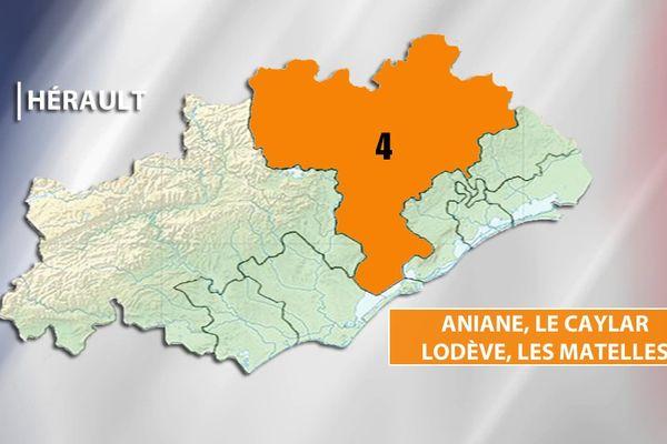 Législatives Hérault - 4e circonscription