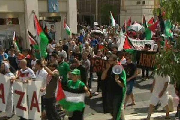 Troisième mobilisation pour les Montpelliérains depuis le début des bombardements sur Gaza.