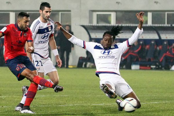 20/12/15 - Ligue 1 - Gazélec-Ajaccio-Lyon 2-1