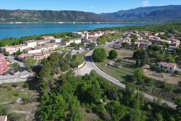 S'il n'avait pas été déplacé, le village des Salles-sur-Verdon aurait été engloutit sous 40 mètres d'eau.